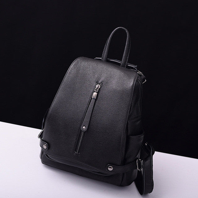 New Style Leather Backpack