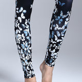 Butterfly Printed Sport Yoga Legging