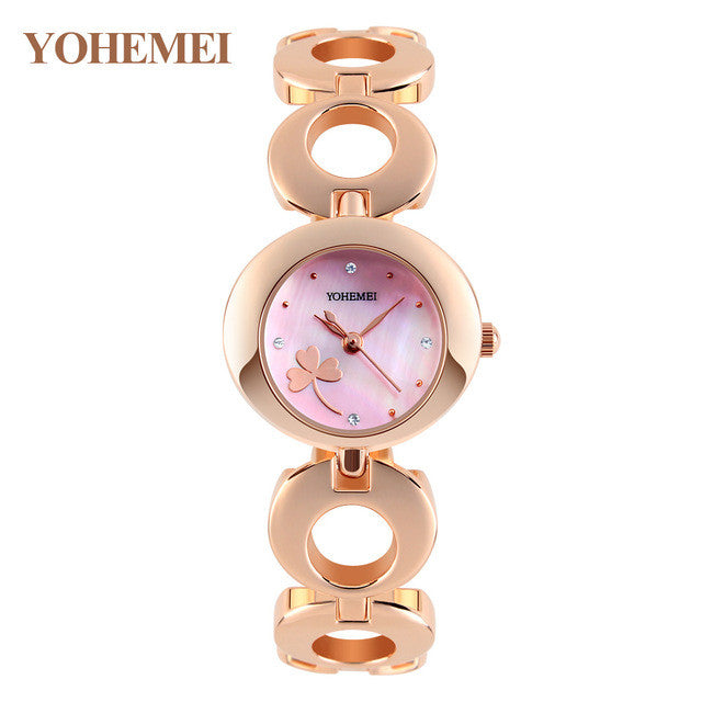 Luxury Alloy Crystal Watch