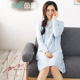 Loose long sleeves Knitted dress