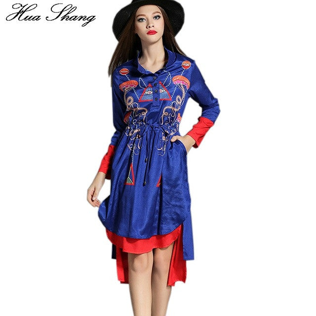 Long Sleeve Vintage Dress