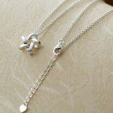 925 Sterling Silver Long Necklace
