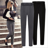 Skinny Stretch Mid Casual Pant