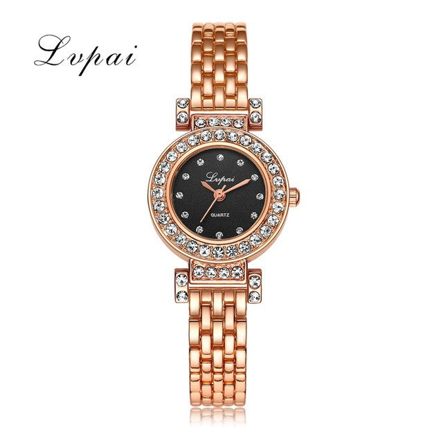 Luxury Crystal Alloy WristWatches