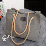 Lİnen shoulder bag
