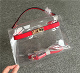 transparent plastic bag