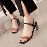 Leather Casual Summer Sandals