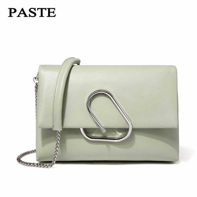 Crossbody Leather Luxury Clutch