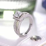 925 Silver Luxury Ring