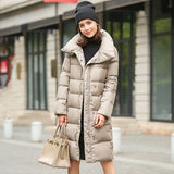 Parka Female Thickening