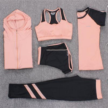 Gym Clothes Fitness Running Tracksuit Sports