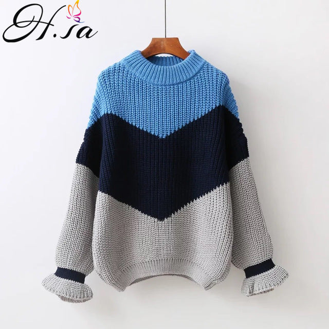 H.SA Winter Pull Sweaters