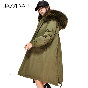 JAZZEVAR fur Hooded Parka