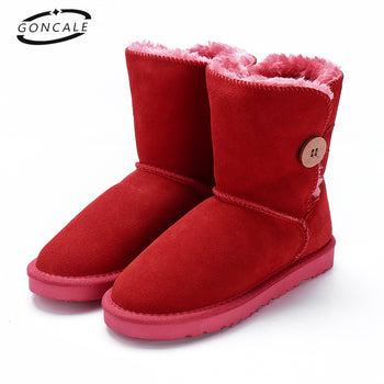 GONCALE High Quality Band Snow Boots
