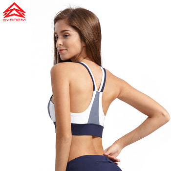 Stitching yoga Fitness bra