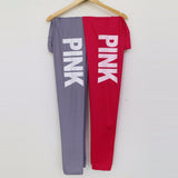 High Waist Slim Vs Pink Legging