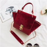 Chain Vintage Patchwork BAG