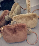 lovely hairy rabbit bag