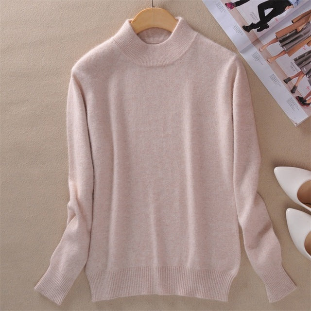 Winter High Quality Cashmere Sweaters