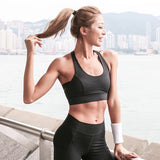 Strap Push Up Sports Bra