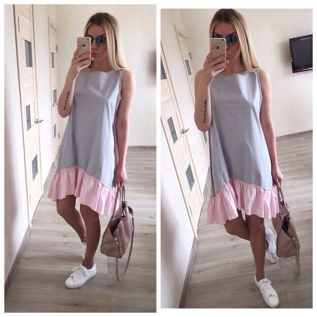 Summer Sleeveless Casual Dresses