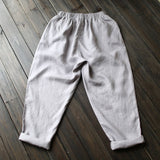 Elastic Waist Loose Casual Pants