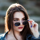 WISH CLUB Fashion Women Sunglasses Famous