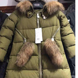 Ladies Down Coats Warm Jackets