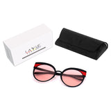 Handmade High Quality Polarized Anti-Reflective Sunglasses Cat Eye
