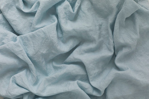 Pure Linen, Silver Blue, In detail