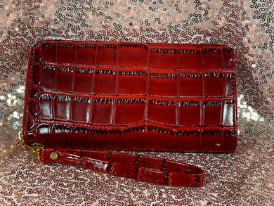 Red Alligator Wallet