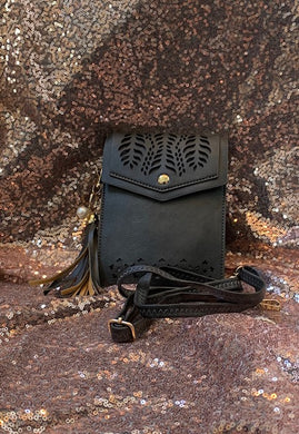 Vegan Leather Cell Phone Purse