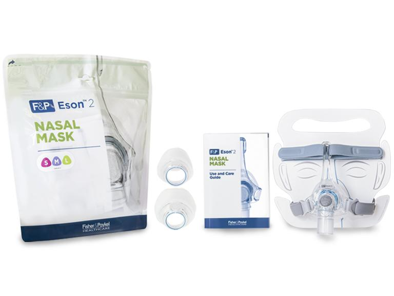 F&P Eson 2 Nasal Mask - Fit Pack CPAP Masks Fisher & Paykel