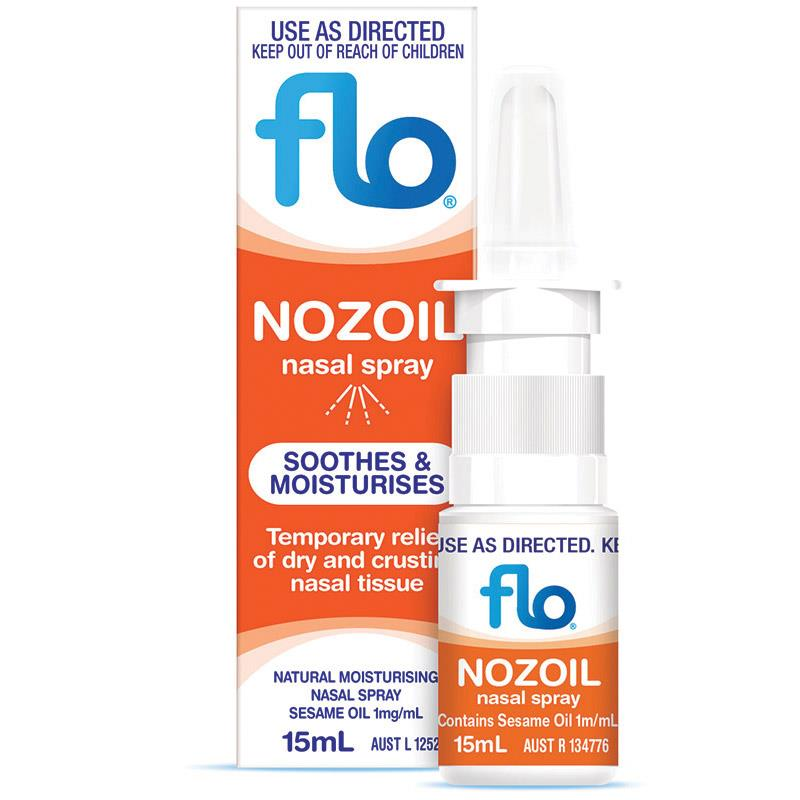 FLO Nozoil Nasal Spray 15mL Accessories Flo