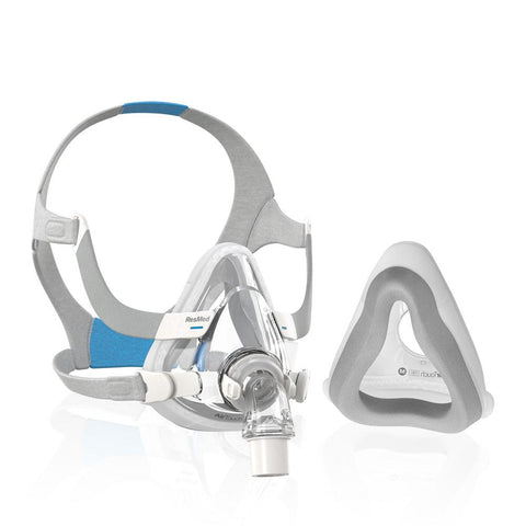 ResMed AirTouch F20 Full Face Mask + 5 Spare Cushions!
