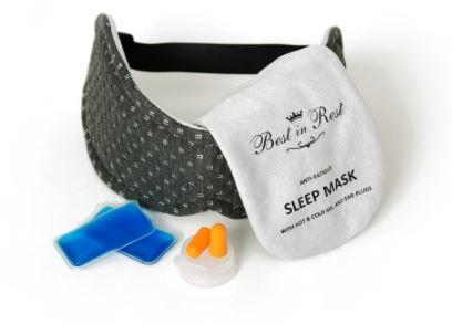 Best in Rest Luxury Anti-Fatigue Eye Mask Accessories Choice One Medical