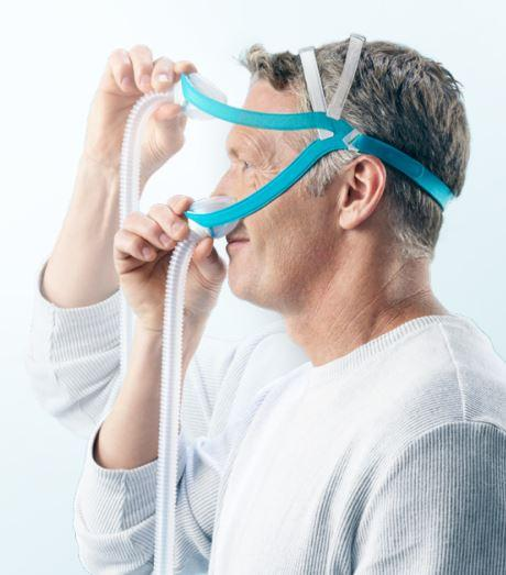 F&P Evora Compact Nasal Mask - Fit Pack CPAP Masks Fisher & Paykel