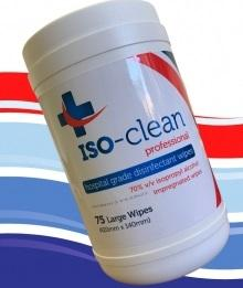 Iso-Clean Antibacterial Wipes Accessories CPAP Direct