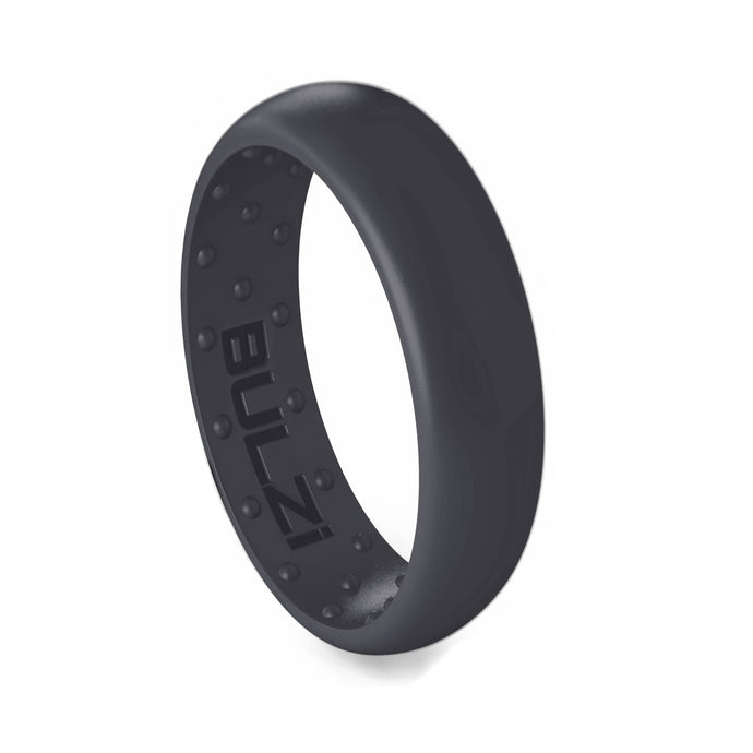 Slate 6mm - Silicone Ring