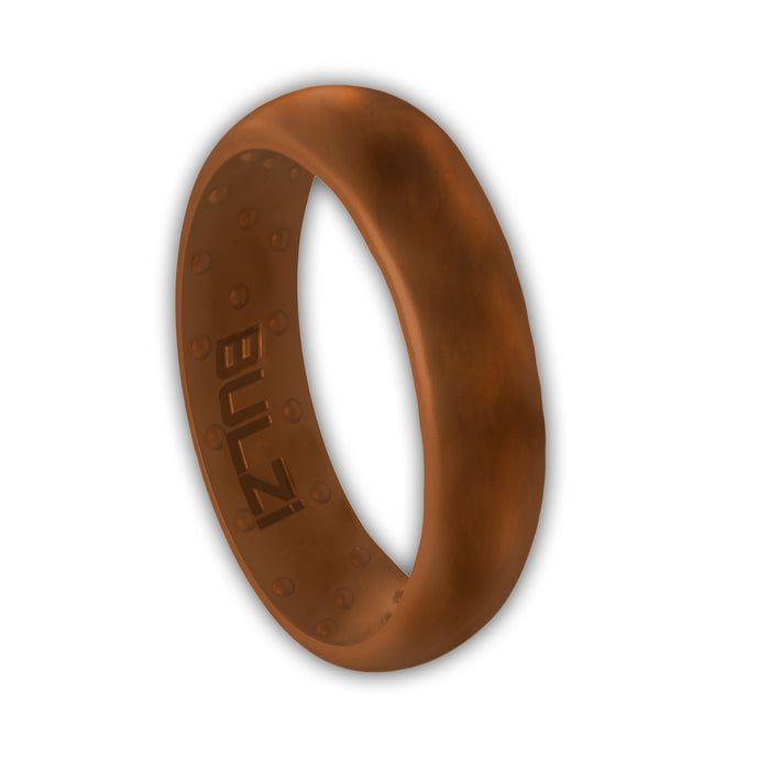 Teak 6mm - Silicone Ring