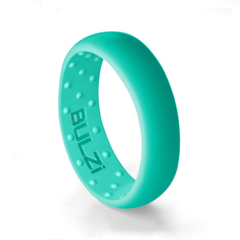 Turquoise 6mm - Silicone Ring