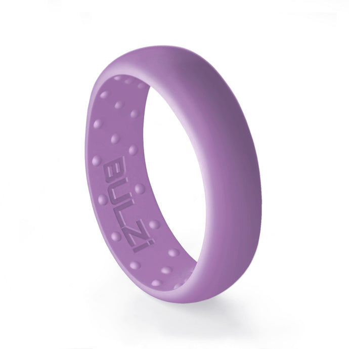 Purple 6mm - Silicone Ring