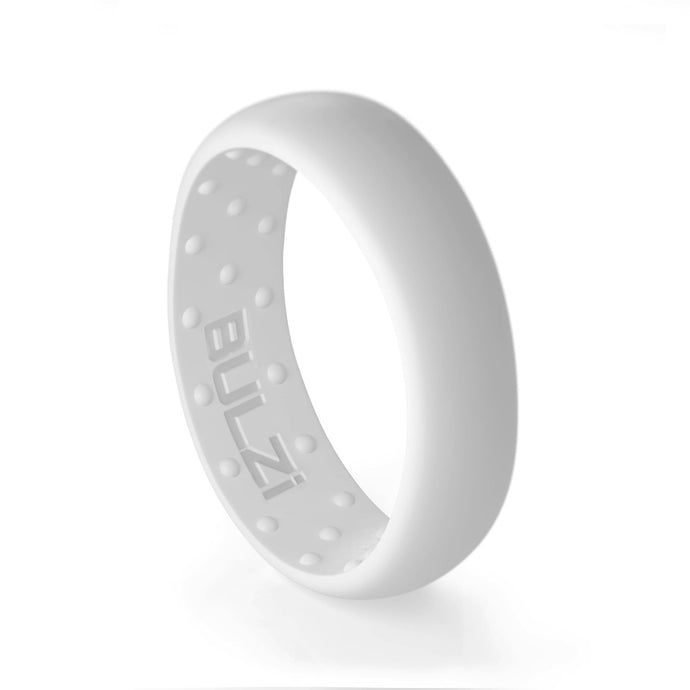 White 6mm - Silicone Ring