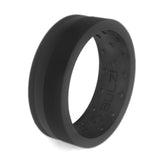 Matte Black Zi2 - Silicone Ring
