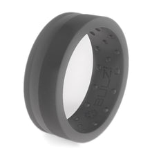 Grey Zi2 - Silicone Ring