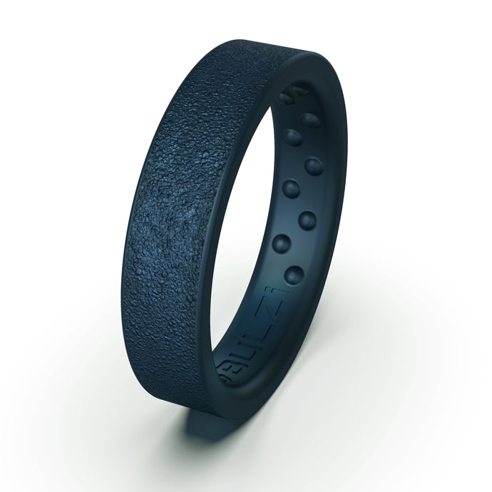 Midnight Blue Thin Hammered - 5mm