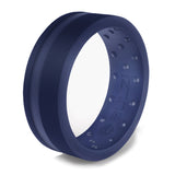 Oxford Blue Zi2 - Silicone Ring
