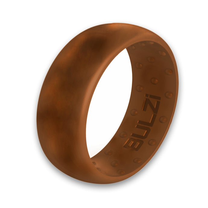 Teak 8mm - Silicone Ring