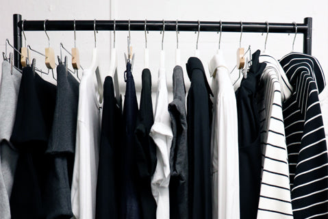 5 tips to help with your New Year wardrobe declutter.