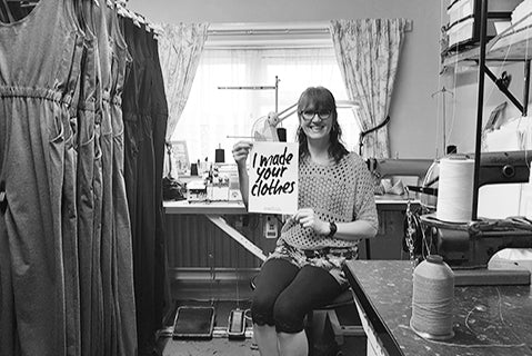#Imadeyourclothes - Introducing our talented Head of Production.